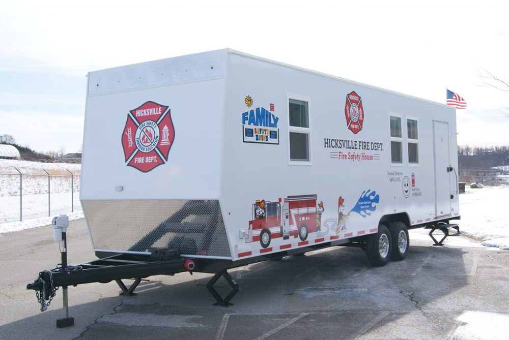 Mobile Concepts 3500 Fire Safety House