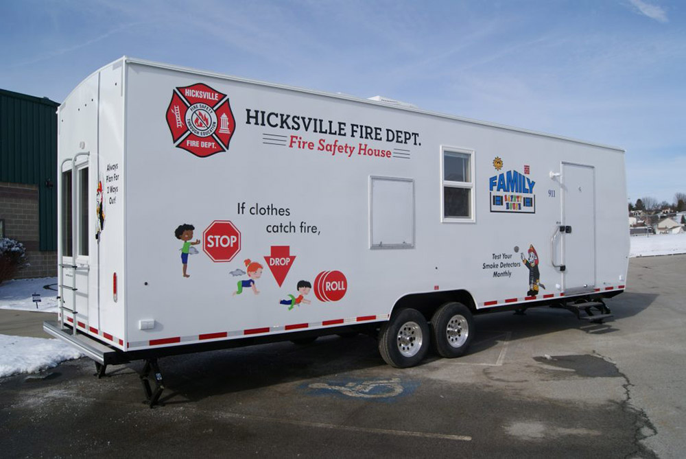 3500 Fire Safety House