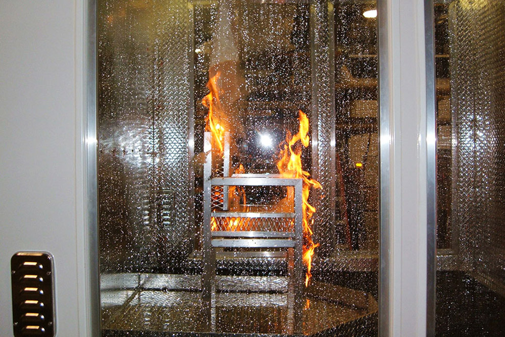 Mobile Concepts Life Safety Sprinkler House