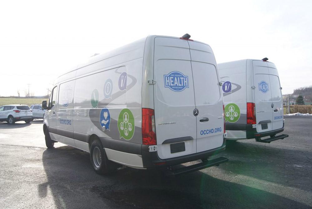 Mobile Concepts Mobile Medical Sprinter Van