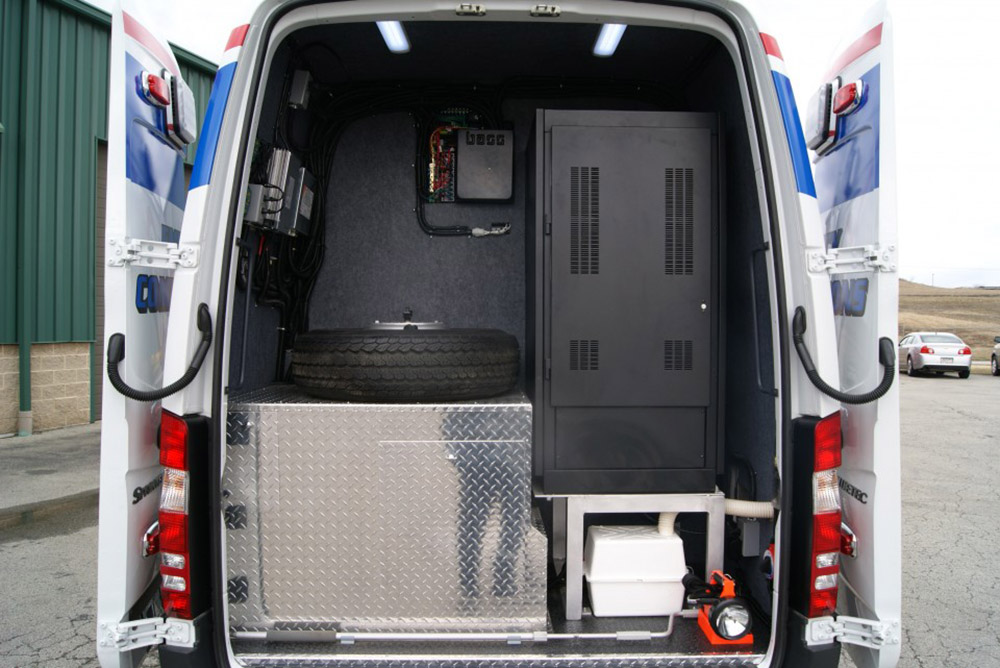 Mobile Concepts Emergency Communication Vehicle