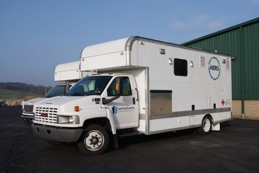 Mobile Immunization Truck