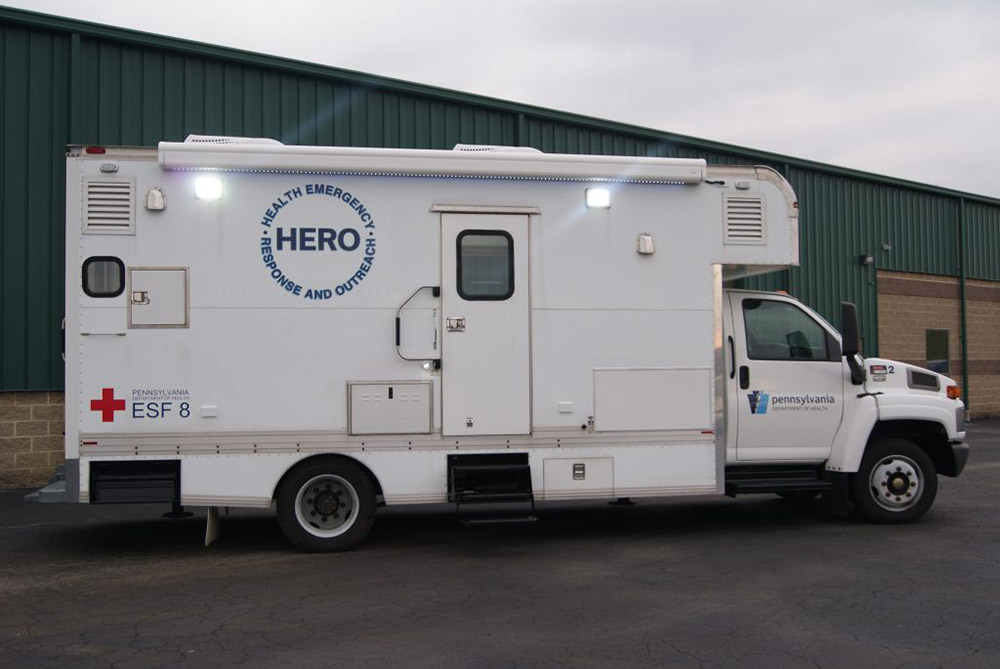 Mobile Concepts Mobile Immunization Truck